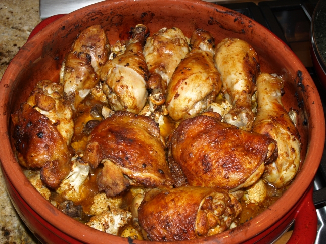 """One response to """" Spanish Style Baked Chicken and Asparagus Salad ..."""