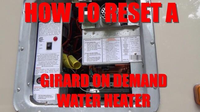 Girard Water Heater