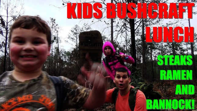 Kids Bushcraft Lunch_Fotor